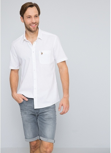 Kısa Kollu Gömlek-U.S.Polo Assn.